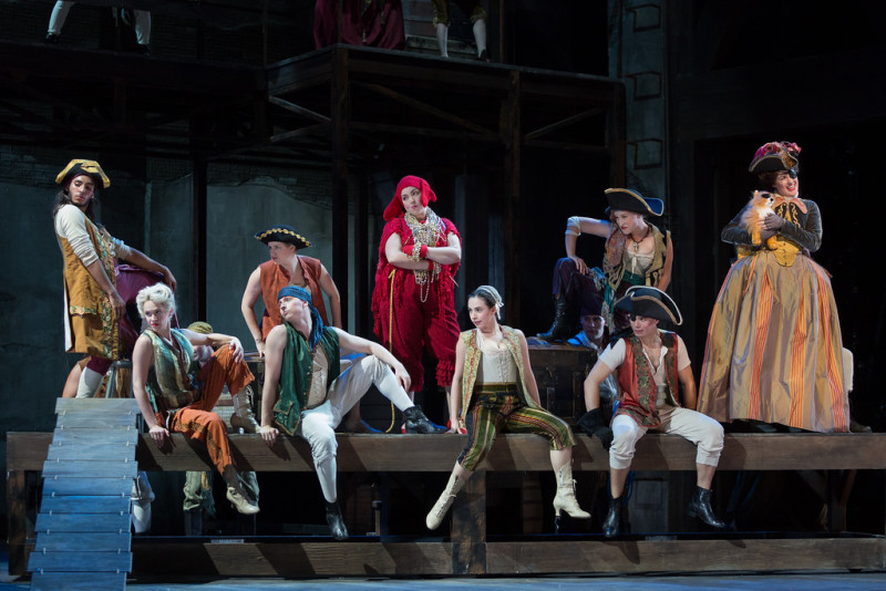"""The Glimmerglass Festival's 2015 production of Bernstein's """"Candide."""" (Karli Cadel/The Glimmerglass Festival)"""