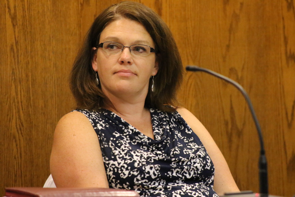 """Meg Hungerford, treasurer and Acting City Manager, was """"disappointed"""" by the vote. (Ian Austin/allotsego.com)"""