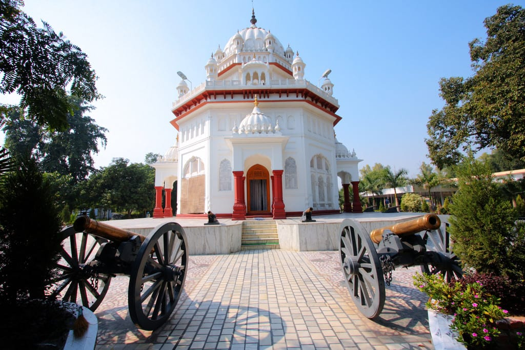 The Ferozepur Cantonment, where Malhotra's grandfather worked after retiring as a railroad stationmaster for the British.