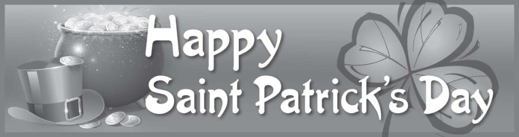 St. Pats Day Banner 4x2 GS