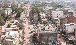 Kanpur in the state of Uttar Pradesh, where Ashok worked for his father's molasses business during a break from BIT.