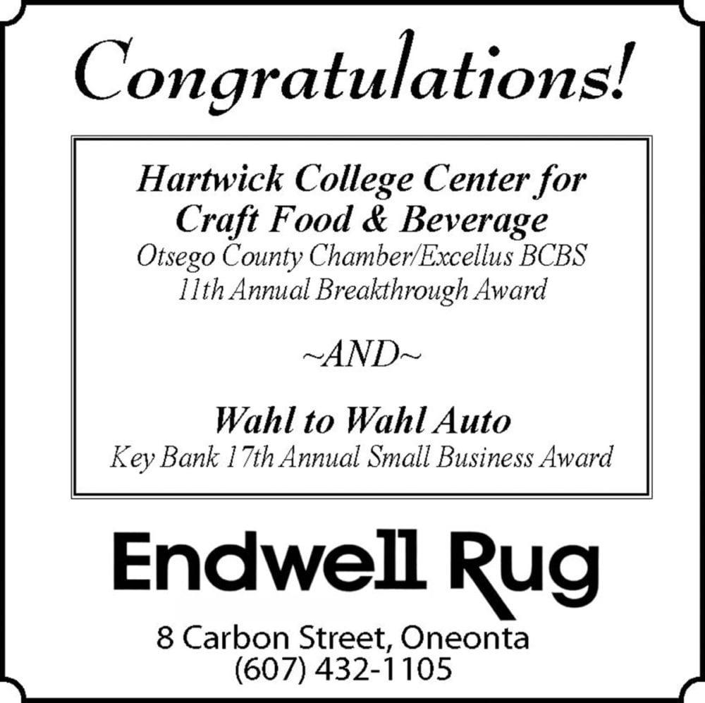 Endwell Rug 3x5 5_10 14 16 Chamber Awards