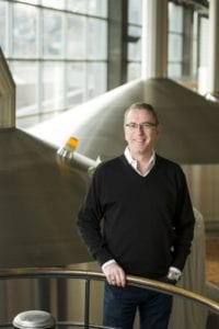 Simon Thorpe, in a photo that accompanied a profile on his career done by brewbound.com