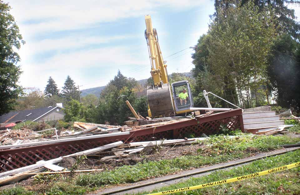 Historical Farmhouse Razed In Cooperstown Neighborhood
