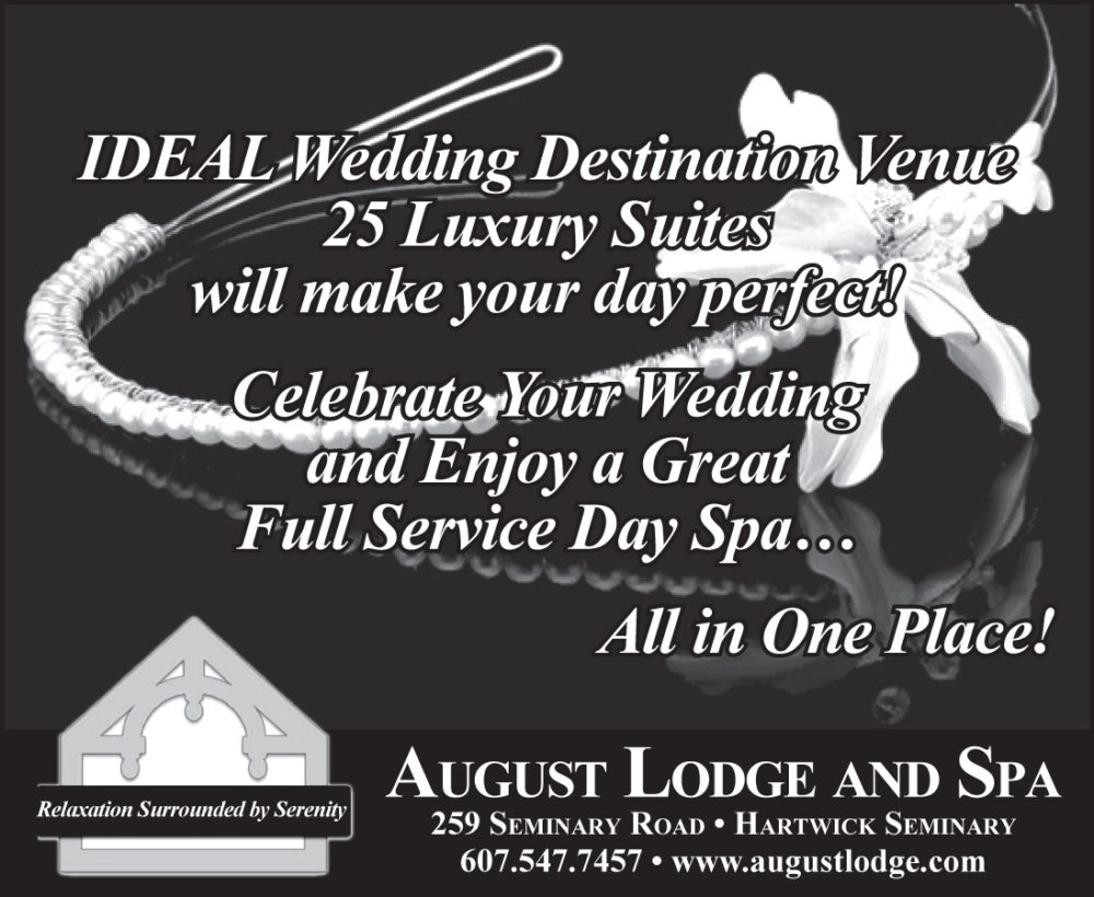 weddings at the August Lodge