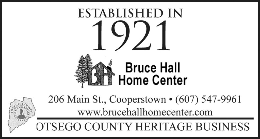 Awesome Bruce Hall Cooperstown Ny