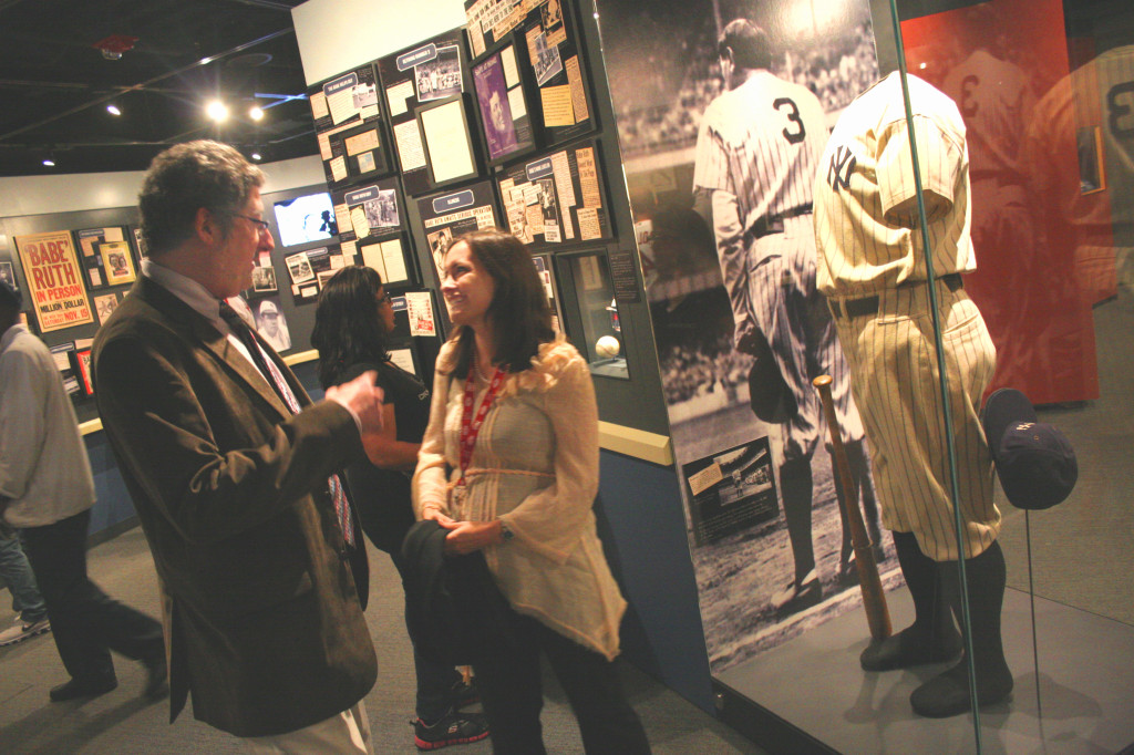 Babe Ruth Exhibit Opens