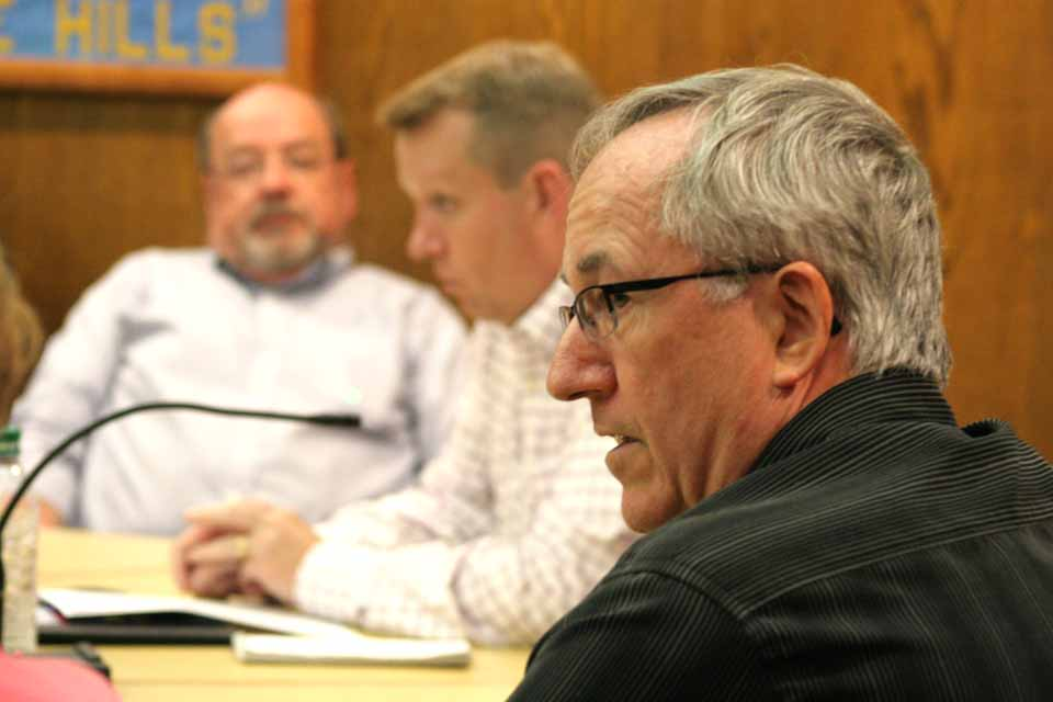 "Council member Larry Malone, in voting to exclude two members of the public from the city-manager search, said it is ""extremely important to maintain the confidentiality of the candidates.""  (Ian Austin/allotsego.com)"