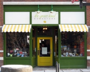 Oneonta's Green Toad Bookstore, founded six years ago, is changing hands.