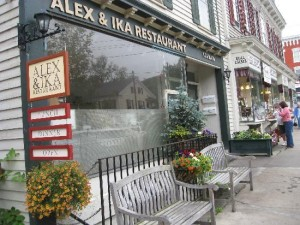 Alex & Ika at 149 Main St., Cooperstown, will be replaced by Cantina de Salsa, a Mexican restaurant.
