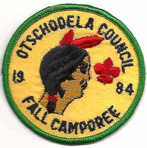 A vintage patch from the Otschodela Council.