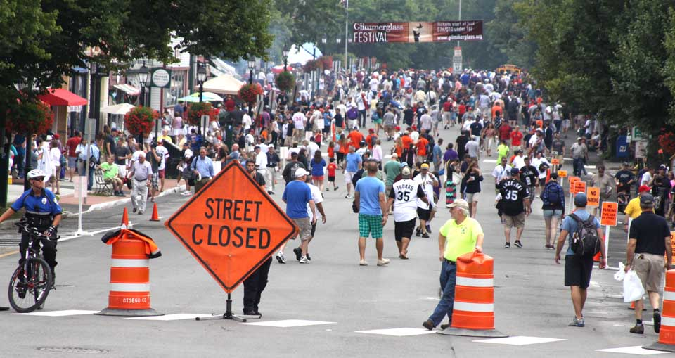 Cooperstown is a busy place during Induction Weekend, but what about the rest of the year? Provide your inputs at a Community Open House 11 a.m.-7 p.m. tomorrow at the fire house on Chestnut Street. (allotsego.com photo)