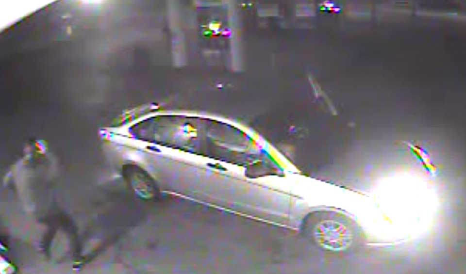 A Ford Focus is the possible get-away car from the burglary. (State police photo)