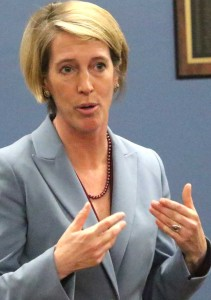 Teachout addresses the committee.