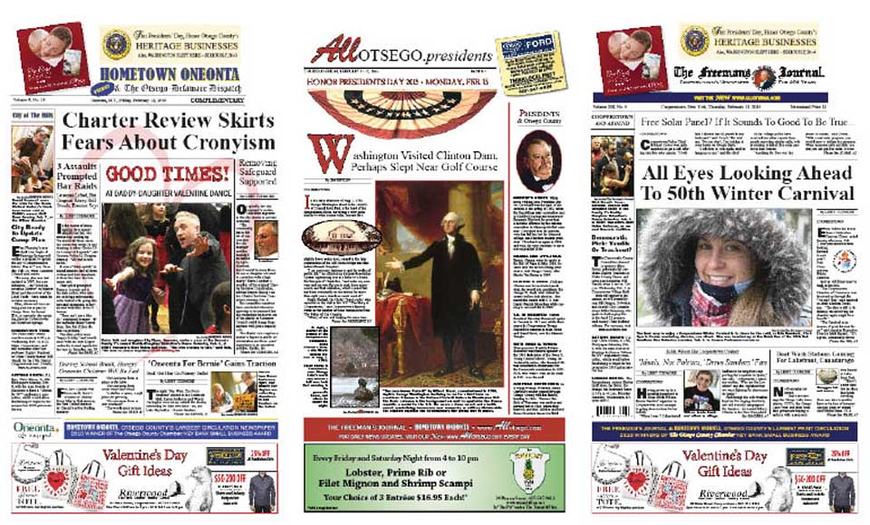George Washington visited the site of Clinton's Dam in Cooperstown in 1783, while he awaited the signing of the Treaty of Paris. Find out how much is known, and what remains unclear, this week in AllOTSEGO.presidents, published in both Hometown Oneonta and The Freeman's Journal.