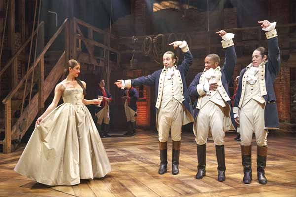 "Oneonta native Carleigh Bettiol in the Tony-award nominated ""Hamilton"""