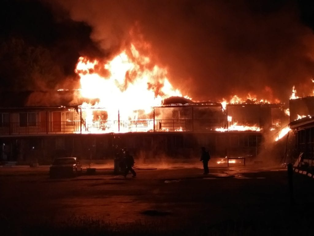 The fire that destroyed the Cooperstown Motel has been declared arson.