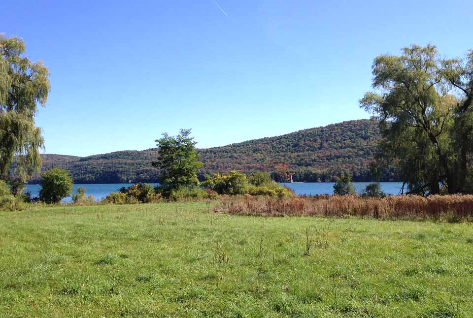 The view looking east from Brookwood Point across Otsego Lake. (Ed Rowley photo)