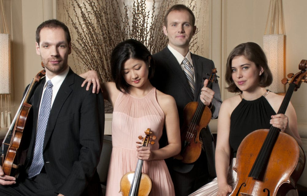 The Jasper String Quartet is offering a free 1 p.m. preview in Cooperstown's Lakefront Park to this evening's 7:30 p.m. concert at Christ Episcopal Church. ,