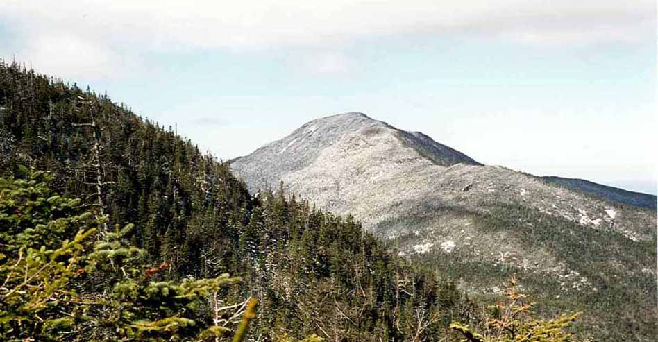 The top of Mount Seward is Bethany Garretson's first goal in her trek to set an eight-day record in climbing the 46 tallest Adirondack peaks.