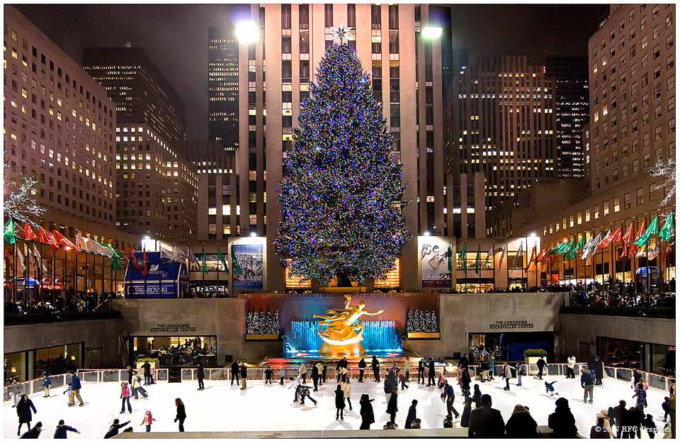 This season, Greg and Angie Eichler's tree will be THE tree of Rockefeller Center.