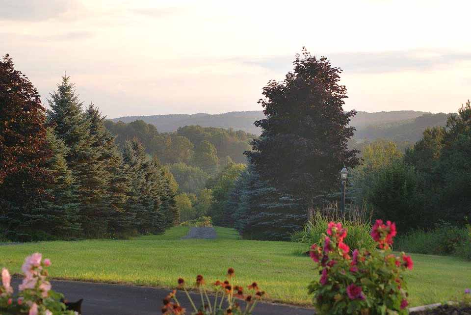 "On the coldest day of the year (so far), Bill Glockler, Town of Middlefield, sent out this view and a dozen others under the title, ""Looking Forward To Better Days..."" Thanks,Bill, and there's good news: Dec. 21, only three days from now, is the shortest day of the year. Things will be getting better."