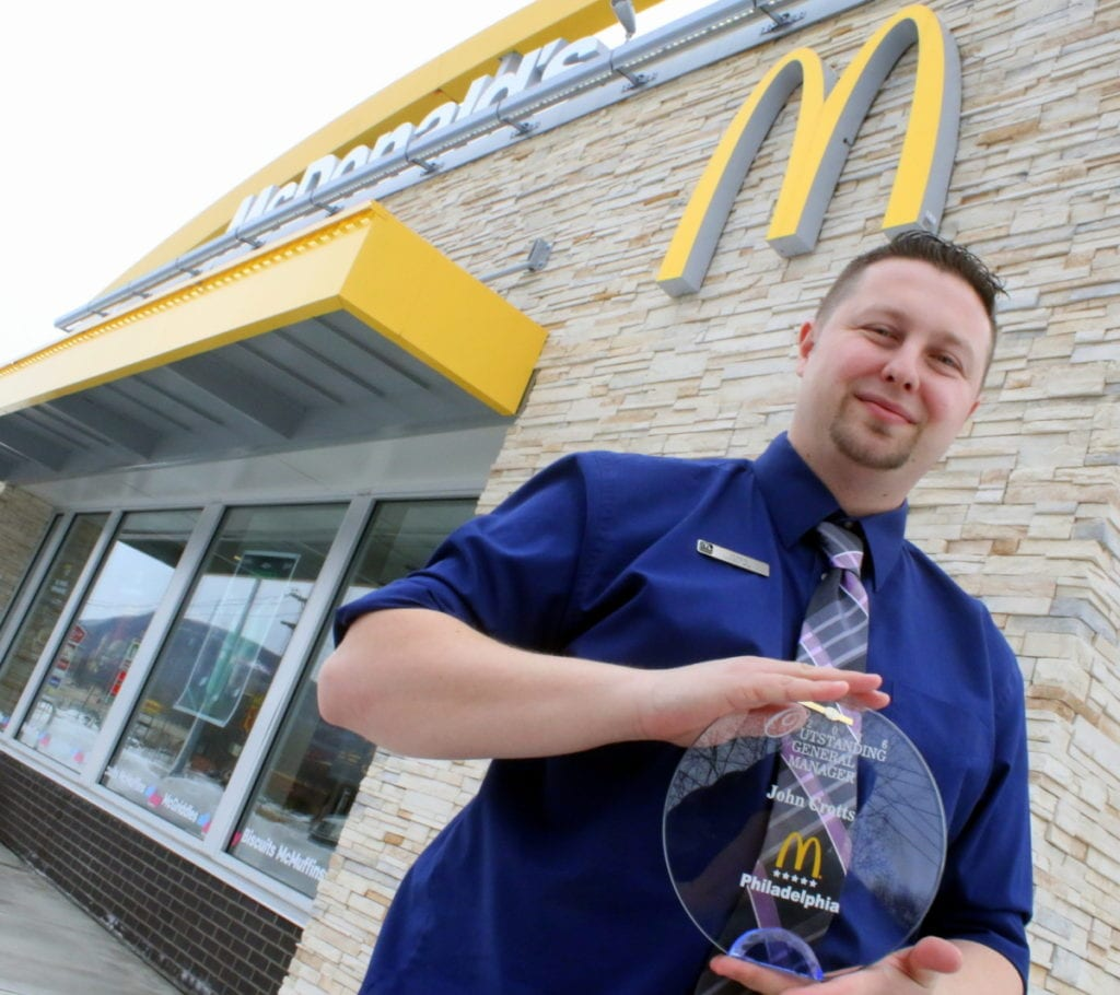 Weekly Calendar Update : Mcdonalds manager named outstanding allotsego