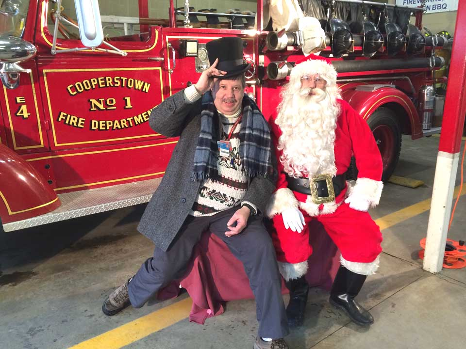Cooperstown F.D. Hosts Kids At Christmas Party | AllOTSEGO.com